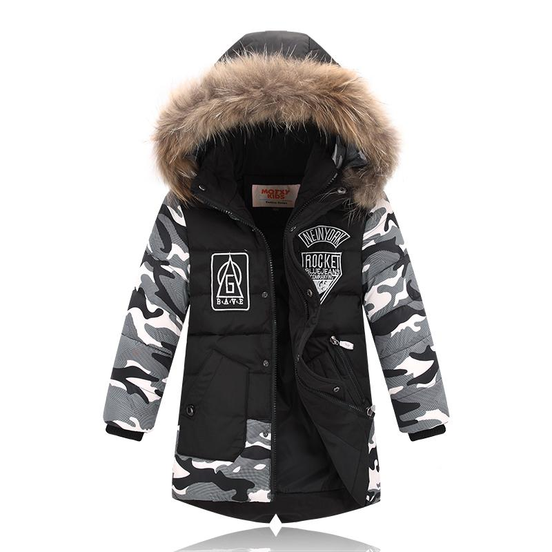 846c98971 Kids Winter Coats Baby Boys Outerwear Down Jacket Boys Winter Coats ...