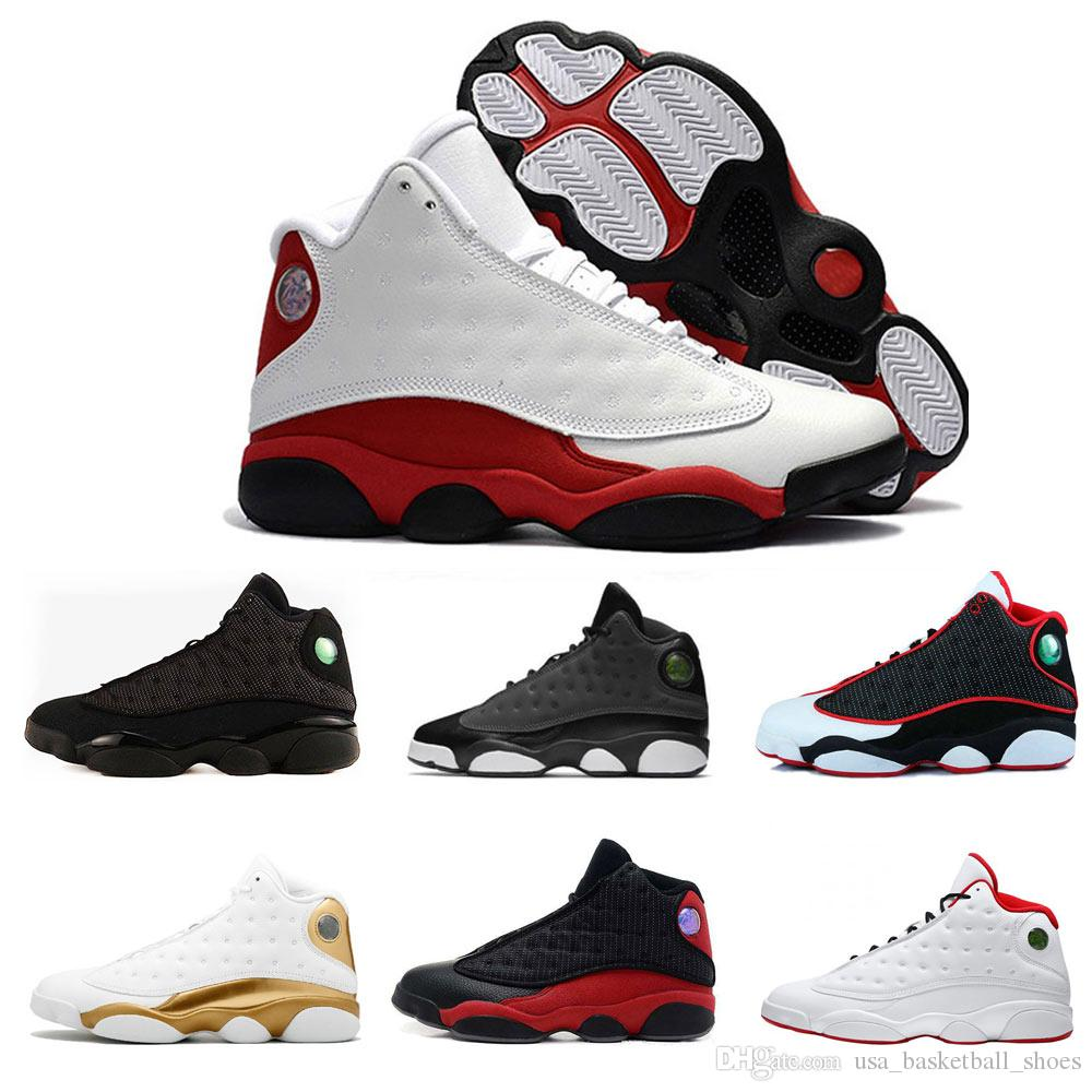 33602336024 New 13 13s Mens Basketball Shoes Phantom Chicago GS Hyper Royal Black Cat  Flints Bred Brown Olive Wheat DMP Ivory Grey Sports Sneakers Shoes Jordans  ...