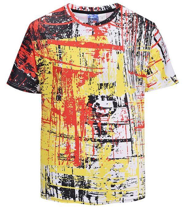 aefbba05 fghnm Luxury tees Mens Designer T Shirt Men's Fashion 3D Lion Print tshirts  Summer Short Sleeve Cotton Tops Casual Brand Hip Hop T-shirts