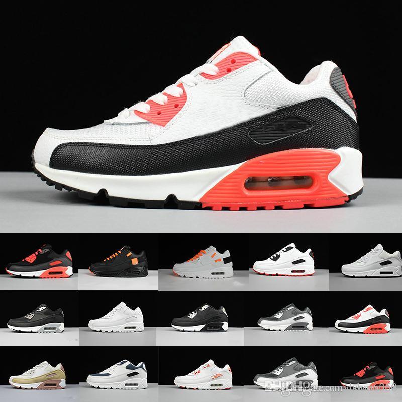 Mejor Seleccionado Nike Air Max 90 Mujer Blancas Zapatos