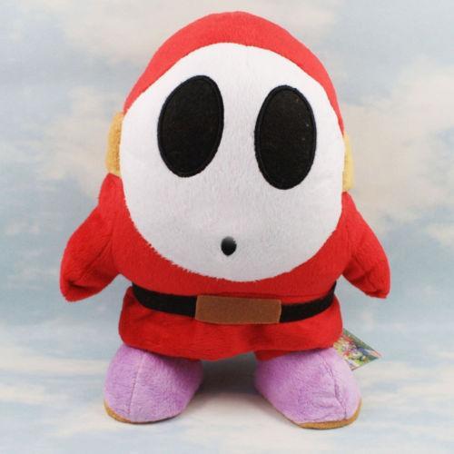 Boy Doll Jouets Gril Super Mario Bros Brothers Shy Guy 6po en peluche en peluche Poupées