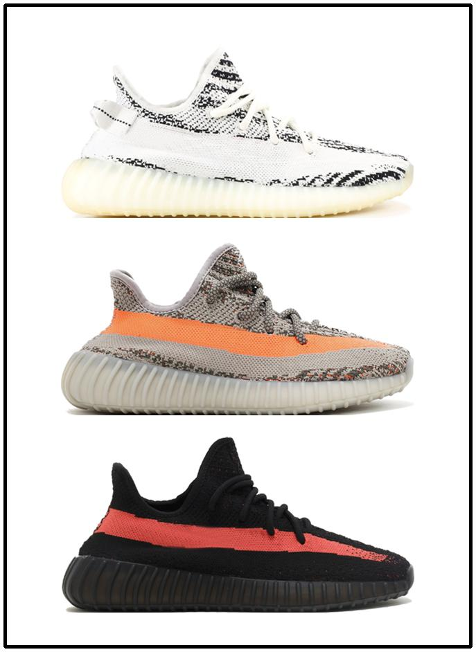 faaa011a3 with Box2019 V2 Static Butter Sesame Cream White Blue Tint Bred Beluga 2.0  Zebra Kanye West Casua Extremely Durable Stabilit A0032 Pumps Shoes Munro  Shoes ...