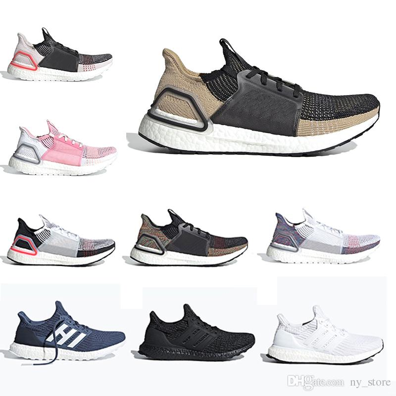 daed895bb Summer Cloud White Black Ultra Boost 2019 Ultraboost Mens Running Shoes  Refract Clear Brown Primeknit 4.0 Sports Trainer Men Women Sneakers Sale  Shoes Men ...