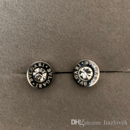 4c13a26af7f 2019 new Deluxe 316L Titanium Steel silver men mini round diamond Stud  Earrings For Women men top Jewelry