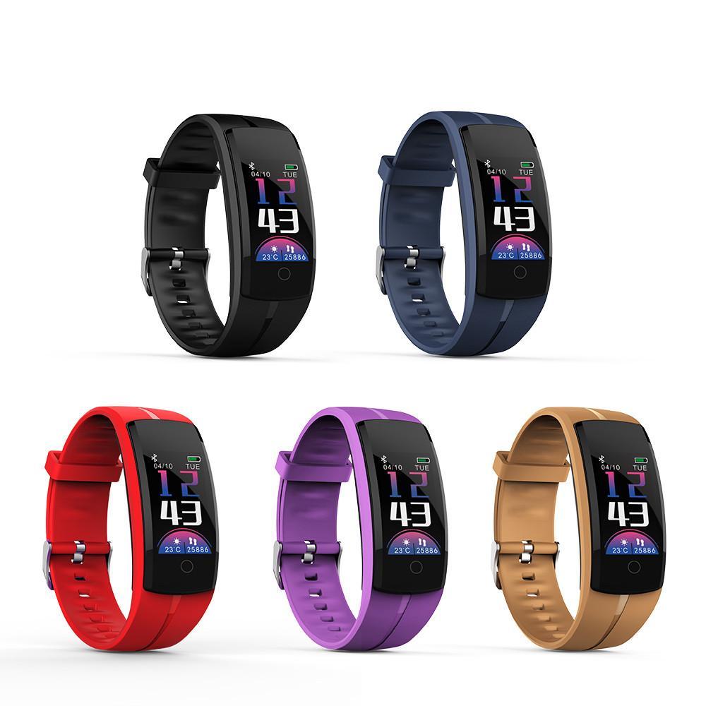 ee04c21c0b01 Pulsera inteligente Rastreador de actividad física Reloj deportivo Banda de  frecuencia cardíaca Pulsera impermeable para Android IOS