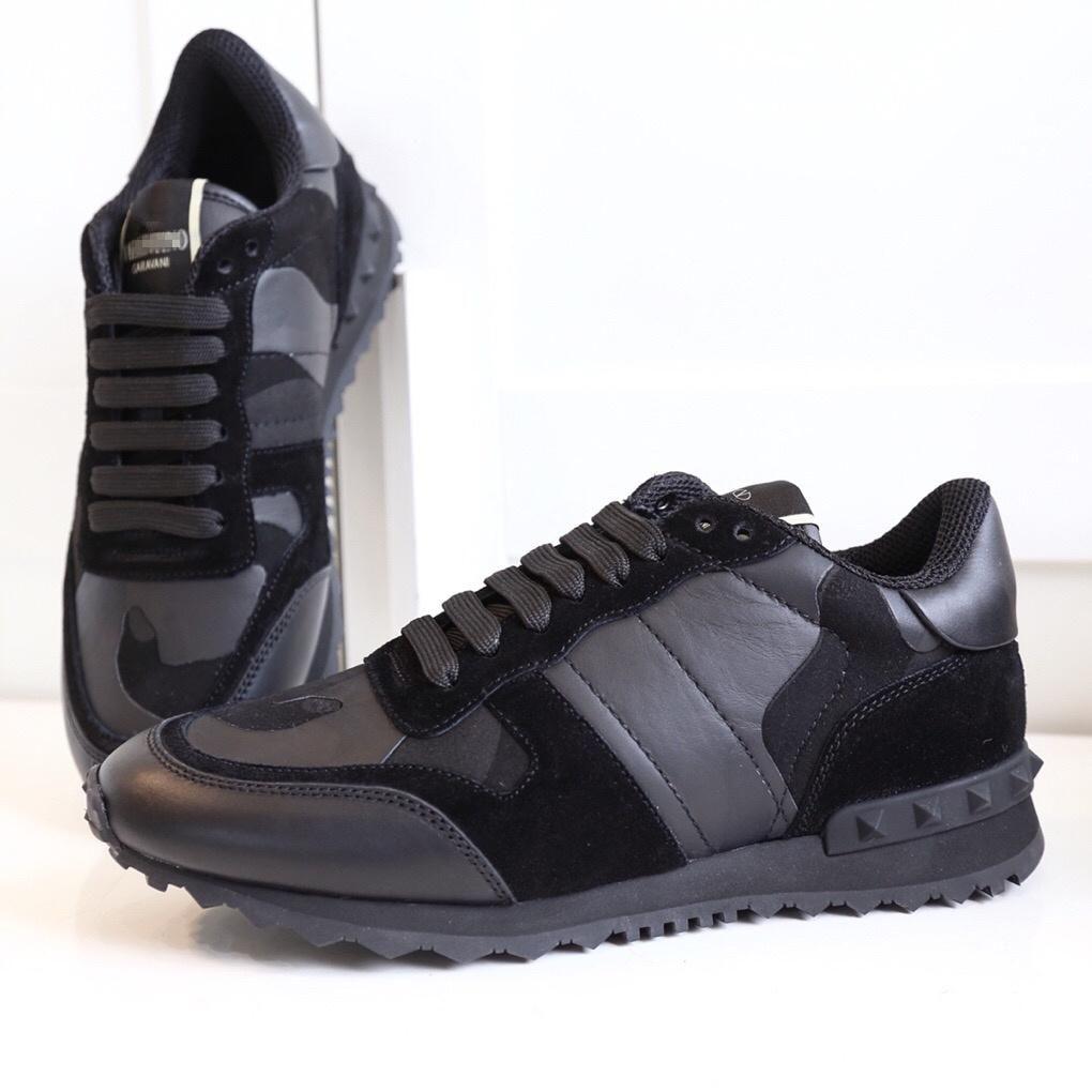 d0292aa59ac69 High Quality VALENTINOS Camo Rockrunner Fabric GARAVANI Sneakers Men ...