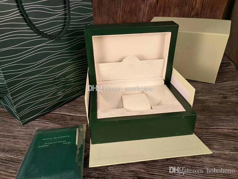 Reloj Verdes Cajas Original Para Hombre Rolex Di De Orologio Originale Lujo Embalaje Scatola Caja Relojes Lusso qSzGVpUM