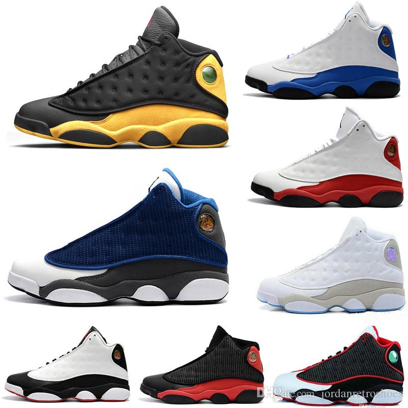 fd07b4cbe6f3 Mens Basketball Shoes 13 Bred Black True Red Moon Particle Graduation Class  Of 2002 Discount Sports Shoe Women Sneakers Jumpman 13 Black Cat Tennis  Shoes ...