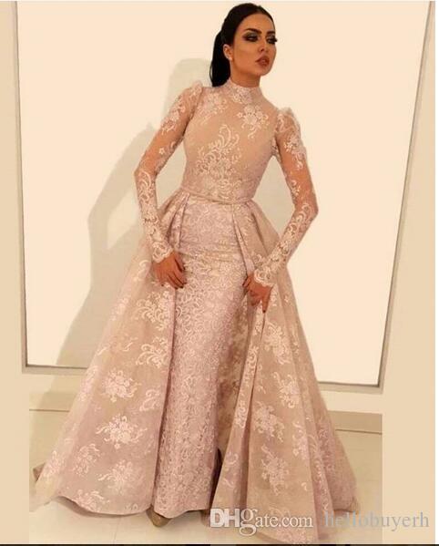 30 Exquisite Elegant Long Sleeved Wedding Dresses Chic: 2019 New Elegant Mermaid Long Sleeve Muslim African