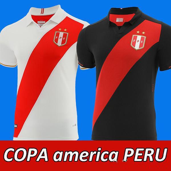 aab9e28adbb 2019 2019 Copa America Peru Soccer Jersey Home Peru Football Shirt ...