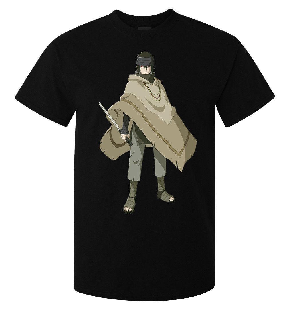 Storm Cuchilladisponible Camiseta Sasuke Para Naruto Sosteniendo Hombre Una Arte Mujer Negra De 3A54RjL