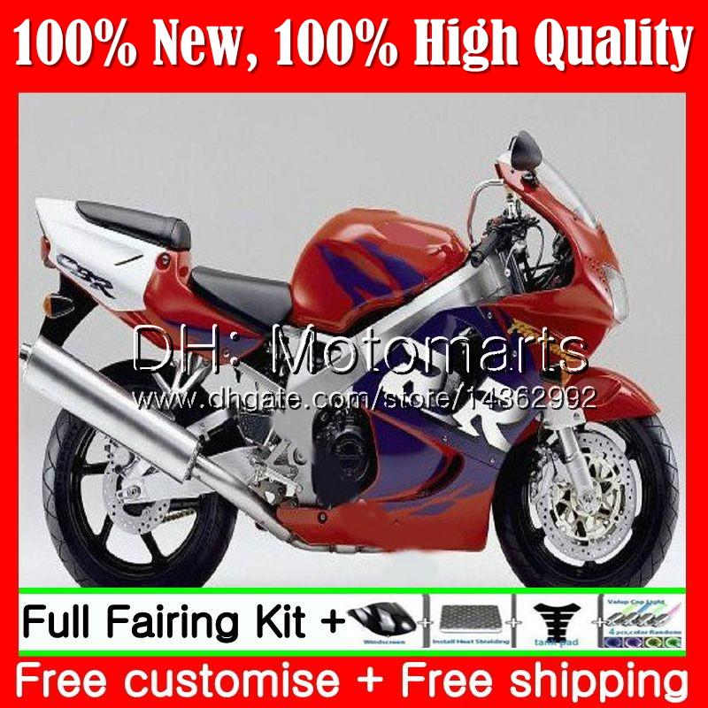 Stock red blue Body For HONDA CBR 893RR CBR900RR CBR893RR 94 95 96 97 71MT1 CBR 893 CBR900 CBR893 RR 1994 1995 1996 1997 Fairing Bodywork
