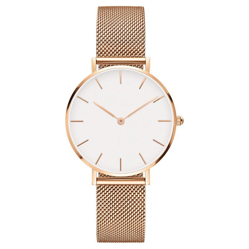 fd53f4d9d8a Compre Nova Marca De Luxo Relógio De Quartzo Moda Mulheres Pulseira De Aço  Assistir Dw Clássico 32mm Estilo Relógios Lady Dress Watch Relogio Feminino  De ...