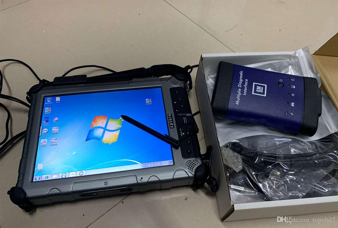 2019 for gm mdi with laptop ix104 installed with mdi gas tech2win full set  ready to work with wifi mdi interface diagnostic tool