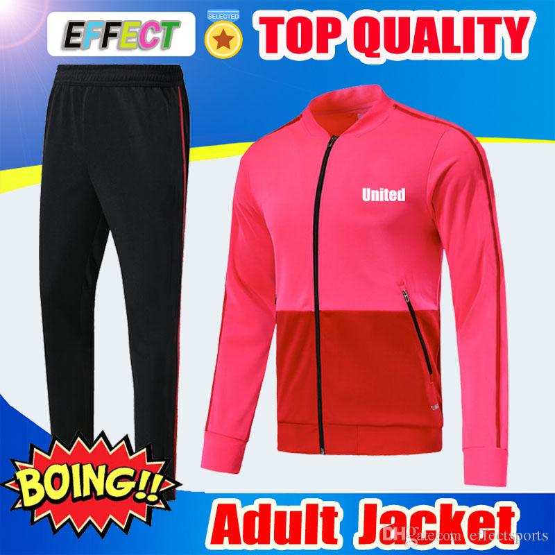 9cbb29d25 2019 2018 2019 UTD POGBA Football Jacket Tracksuit Survetement 18 19 ALEXIS  LUKAKU De Foot LINDELOF UNITED RASHFORD Training Suit Sportwears Set From  ...
