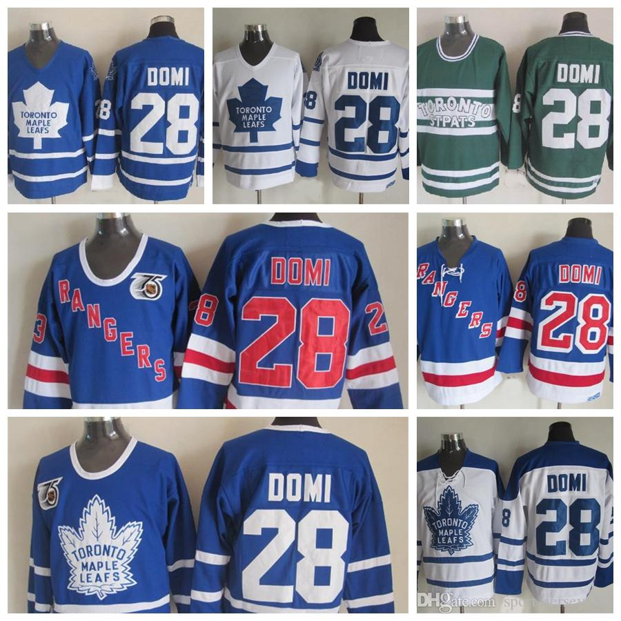 100% authentic 468c2 957dc TIE DOMI TORONTO ST PATS LEAFS CCM VINTAGE JERSEY Hockey-NHL ...
