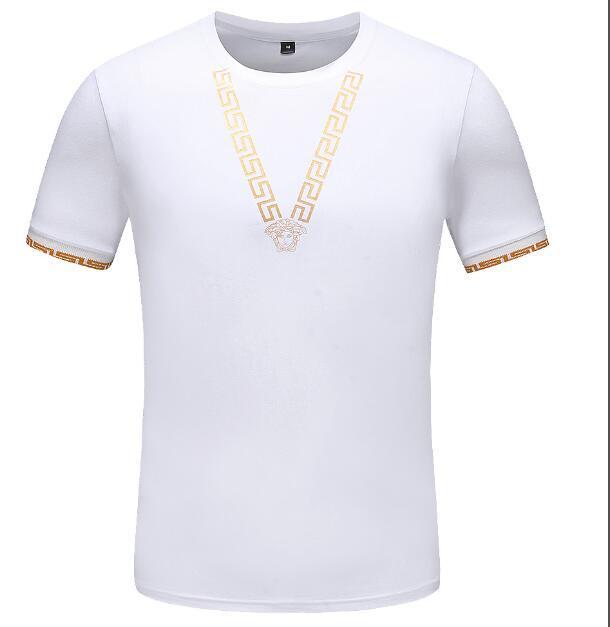 b25d8ac0 2019 Summer Short Sleeve Medusa Tees Shirts Men Italy Brand Designer T  Shirts Fashion Snake Bees Print Tshirts Cotton Crew Neck Tops Irish T Shirts  Art T ...