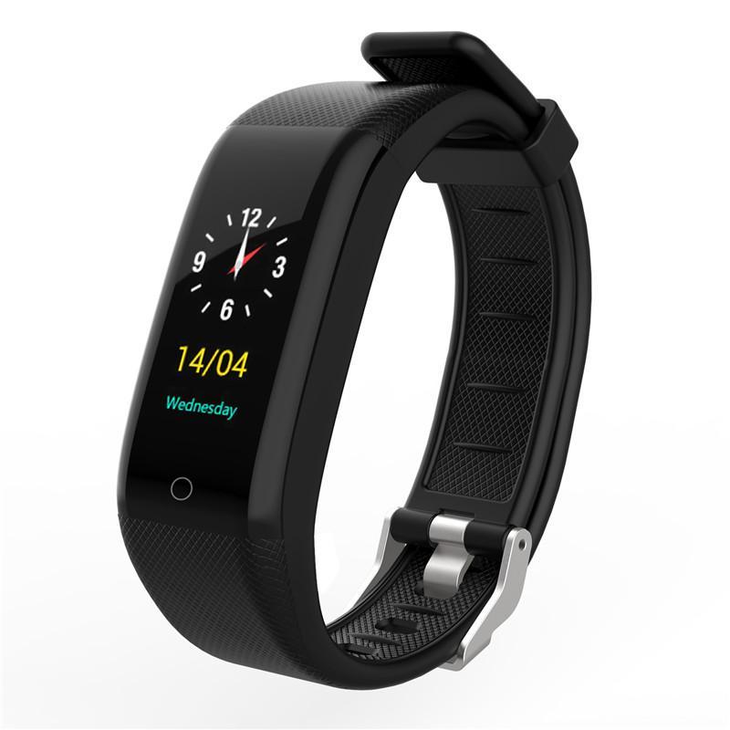 Niedrigerer Preis Mit Mode Smart Band F4 Armband Blutdruck Herz Rate Monitor Männer Frauen Fitness Sport Tracker Uhr Schrittzähler Metall Armband Sport & Unterhaltung