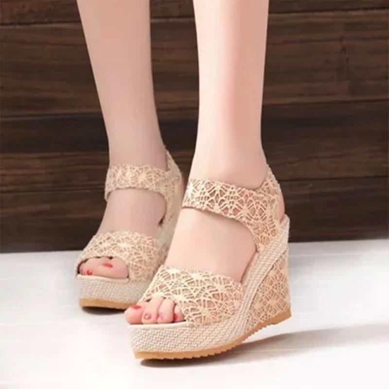8886b4ee998 Designer Dress Shoes 2019 New Arrived Women S Pumps Fashion Lace Gilrs  High  Heels Summer Girl Sandals Girl Dress Shoe Casual Shoes Women Shoes From  Bags8