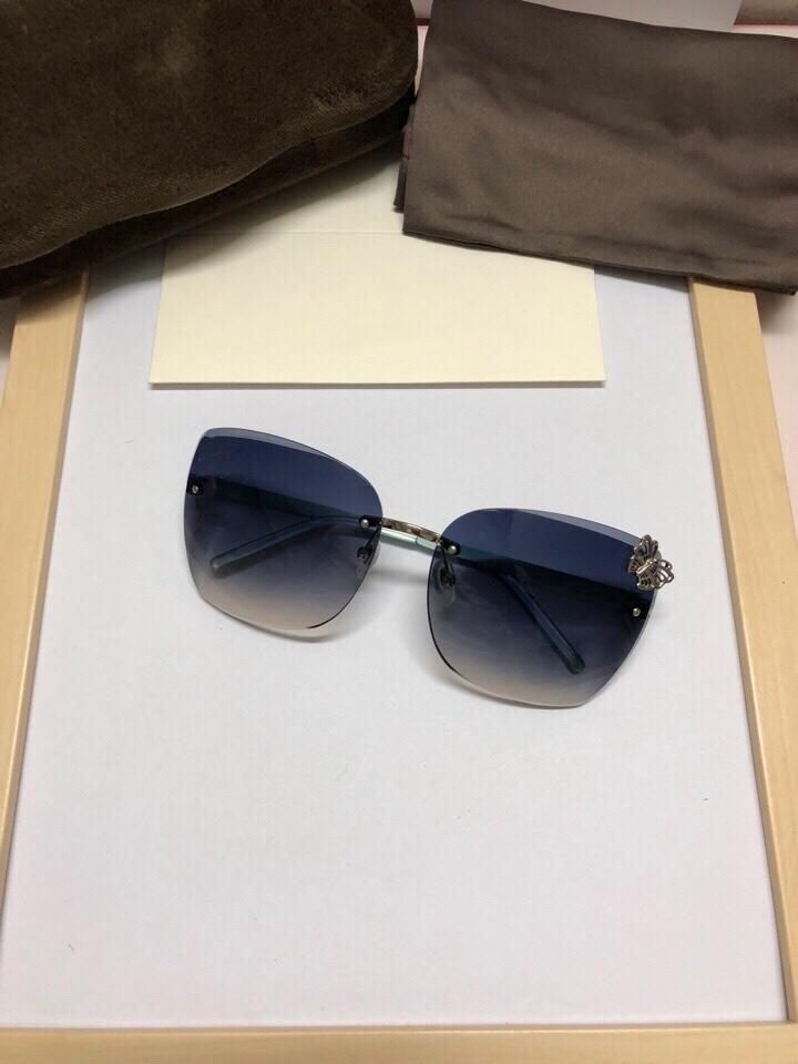 341f5c685e2 Fashion Simple Women s Sunglasses Square Lens 4217 Inlay Butterfly ...