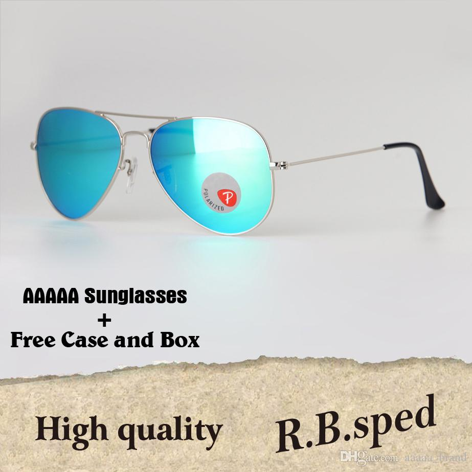 e0e63c925458 High Quality Pilot Plastic Polarized Sunglasses Men Women Brand Designer  Uv400 Eyewear Driving Glasses Gradient Lenses With Cases And Box Locs  Sunglasses ...