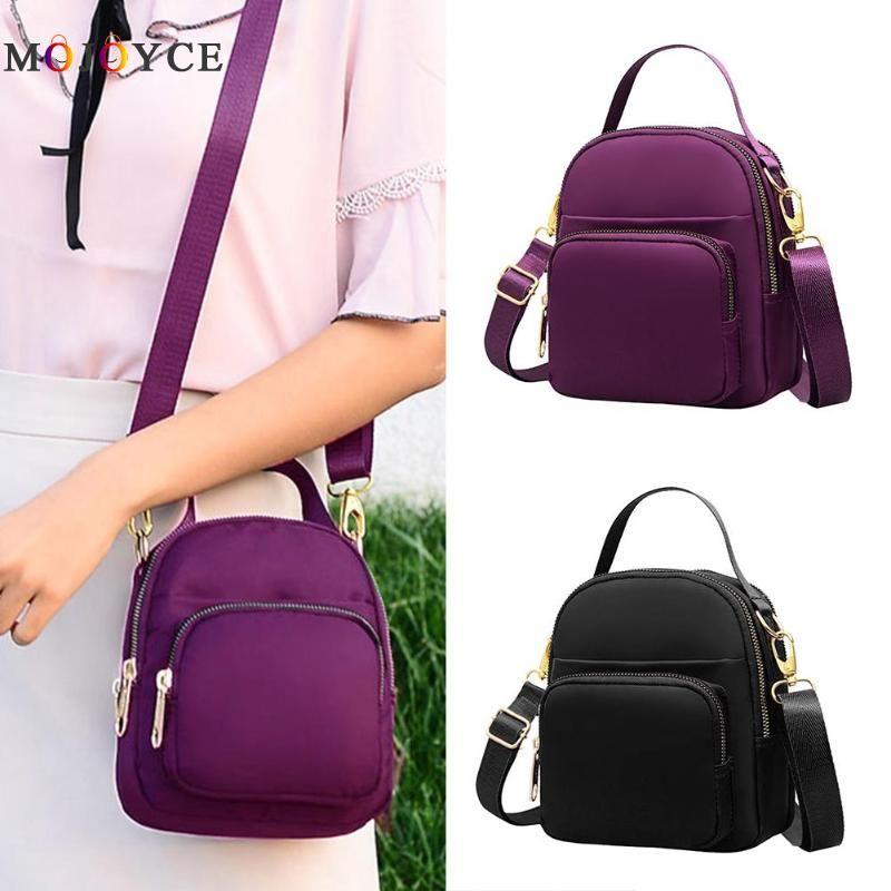 0c5e9113a5f0 2019 Women Shoulder Bags Girls Nylon Mini Pouch Casual Clutch Crossbody  Handbag Bag For Women Shoulder Bags For Women Handbag Sale From Naforan