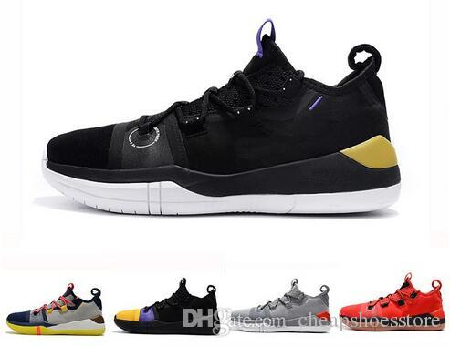 new concept f60f6 6e356 Kobe AD EP Mamba Day Sail Multicolor Mens Basketball Shoes Wolf Grey Orange  For AAA+ Quality Black White Mens Trainers Sports Sneakers 40 46 Basketball  ...