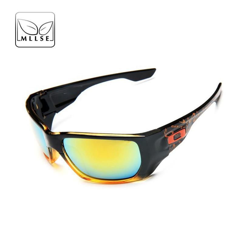 9502a8833c49 MLLSE Brand Goggles Sports Sunglasses Men Women Golf Sun Glasses PC ...