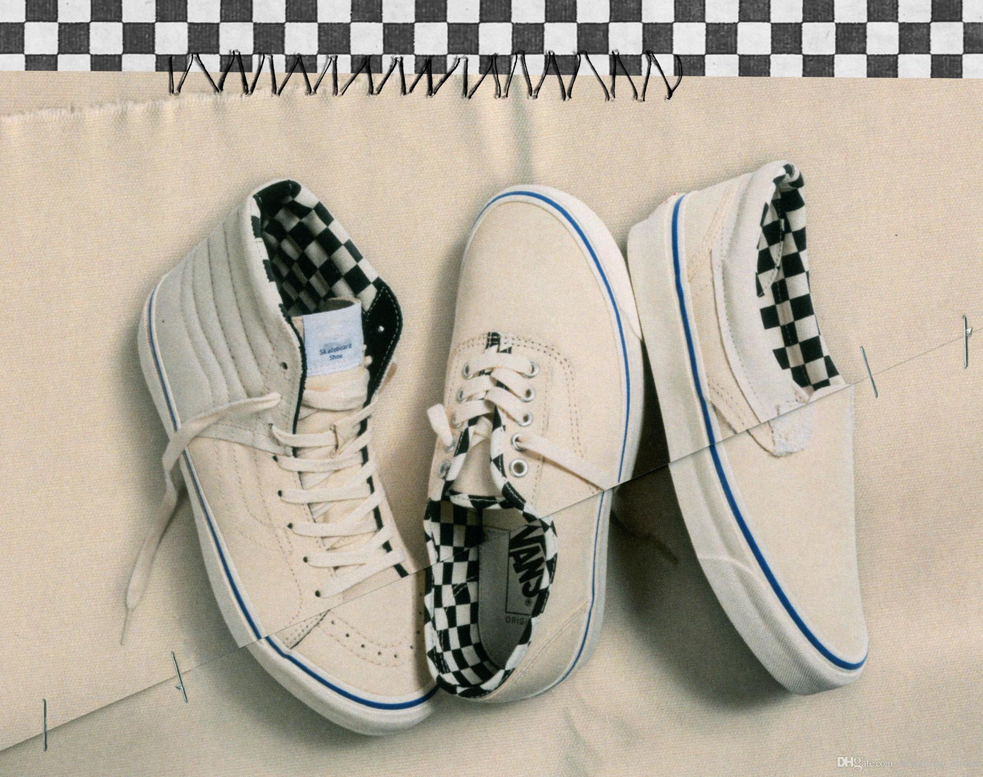 Vans Sneakers Nuevo Vans Cut Paste Bóveda De Resbalón En Old Skool Hombres Mujeres  Zapatos Casuales Skateboard Para Hombre Zapatillas Lienzo Deportes Al ... 54b47899a20