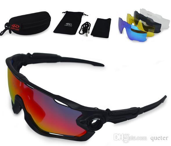 fb5f68384c5f1 Compre Marca 5 Par Lente Polarizada Esporte Óculos De Sol UV 400 Ciclismo  Óculos De Sol Tour De France Eyewear Frete Grátis. De Queter,  23.7    Pt.Dhgate.