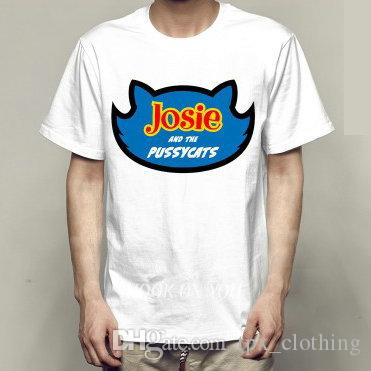 2c60bbb2c Compre Josie Camiseta Riverdale Pussycats Vestido De Manga Corta El Gatito  Gatos Solidez Foto Tees Ropa Unisex Calidad Modal Camiseta A  13.53 Del ...