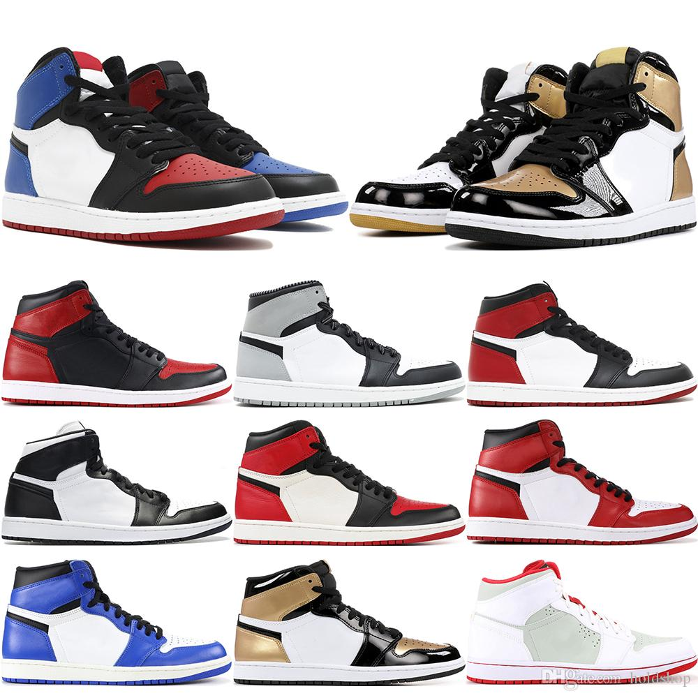 low priced d676a 9ff6f 2019 1 High OG Mens Basketball Shoes Gold Top 3 Triple Black White Shadow  Paris Saint German Best Quality Designer Athletics Sneakers US 7 13 From  Holdshop, ...