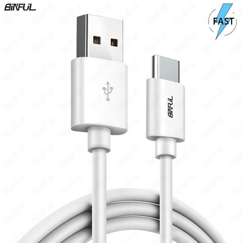 Cable micro USB tipo C 3.1 datos y carga rápida Blanco Samsung Note 8