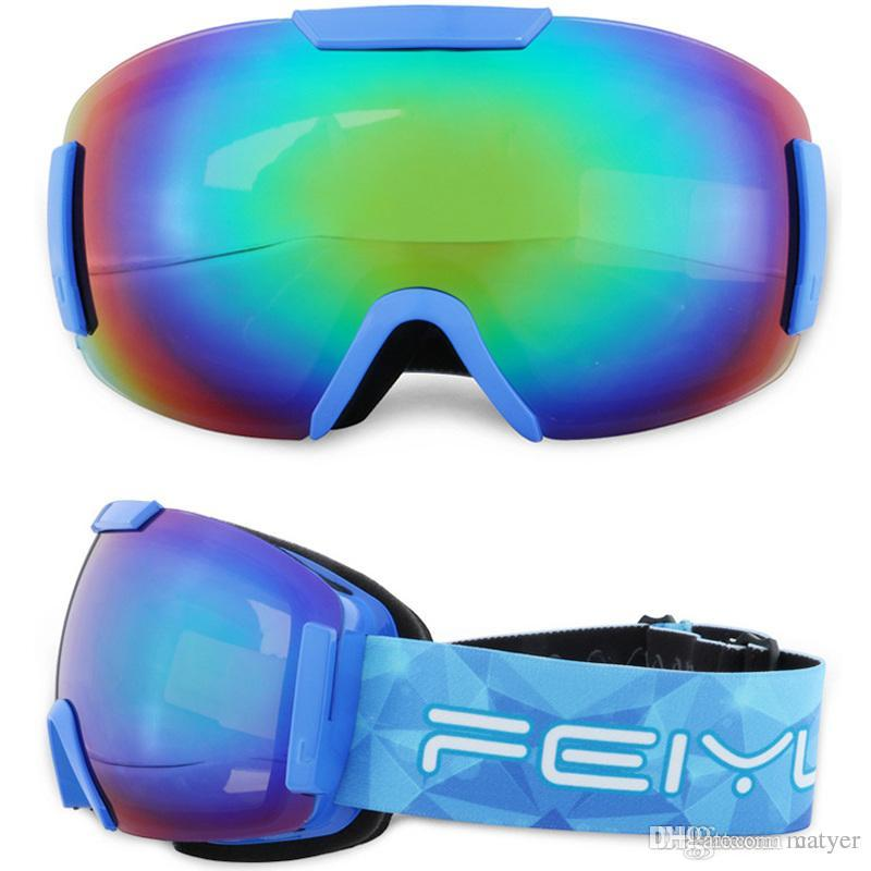 82773be056 Ski Goggles Myopia Available Ski Goggles Large Spherical Climbing ...
