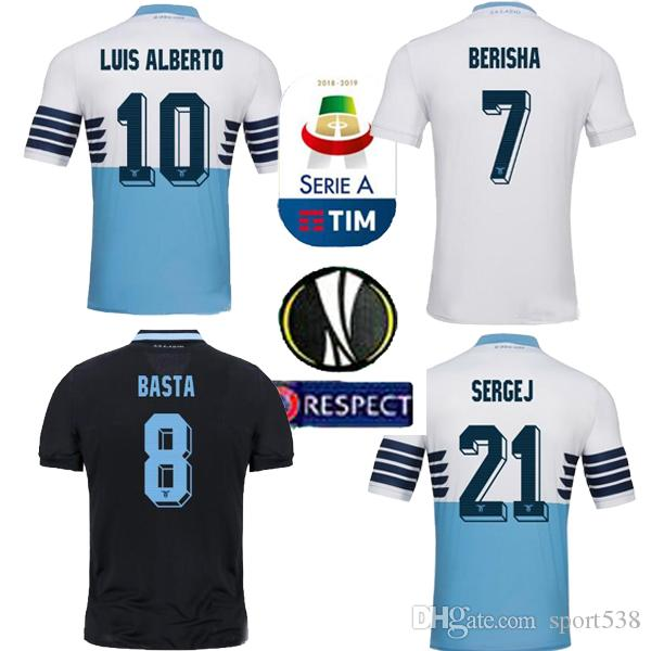 e3f52913dec 2019 2019 Lazio HOME Blue BASTA 9 Football Jersey 18 19 Lazio AWAY LUCAS D  JORD JEVIC 10 F.ANDERSON IMMOBILE Custom The Bully Soccer Shirt From  Sport538