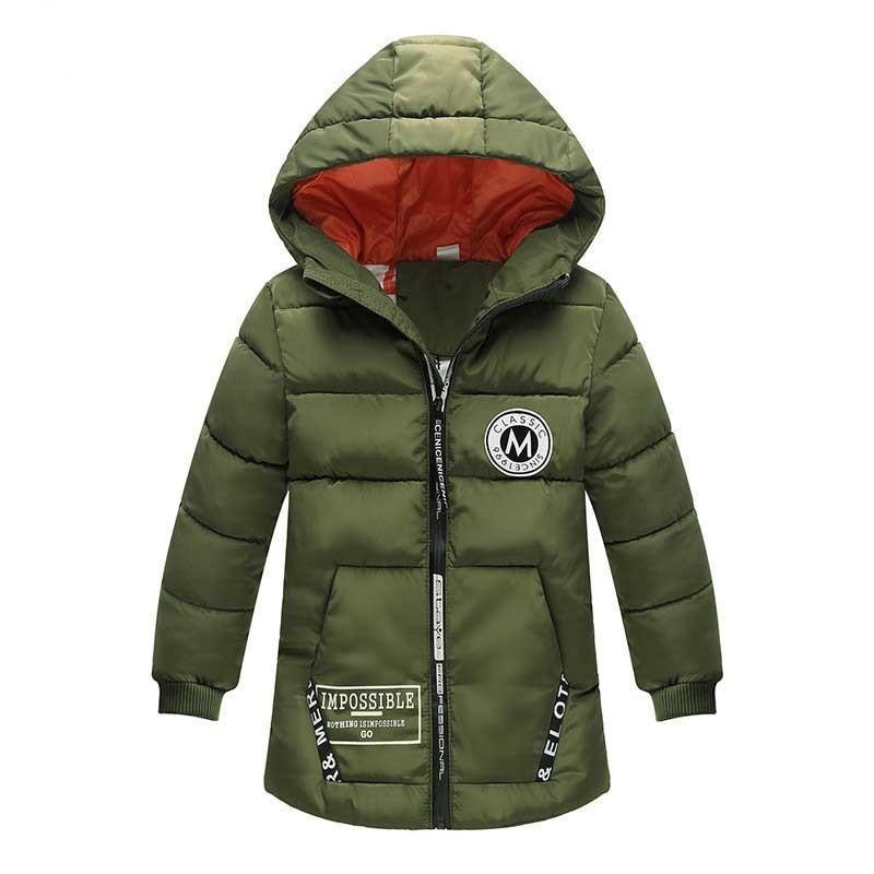 bc83567c24a1 Good Quality Boys Winter Coats Children Boys Cartoon Hooded Thicken ...