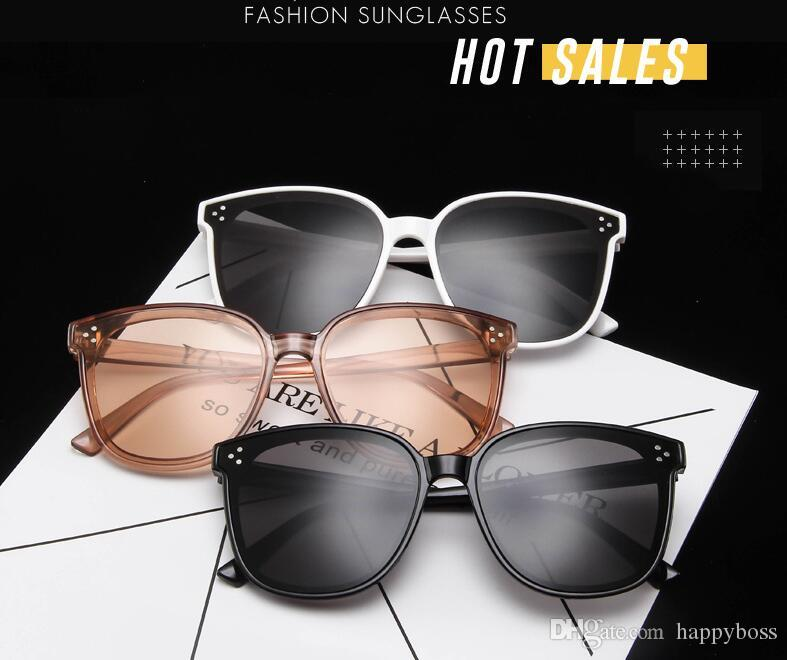 New Korean Trend Women Sunglasses Fashion Wild Goggles Sun Glass Summer Outdoor Beach Glasses PC Lens 8 Color low price