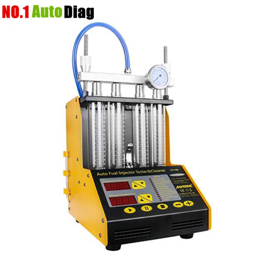 In Stock! New Arrival AUTOOL CT150 Ultrasonic Auto FUEL Injector Cleaner  Tester English Panel 220V/110V Upgrade Version of CT200