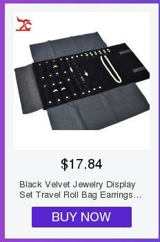Support à bijoux de voyage en velours, présentoir à bijoux, étui de rangement pour montre, organisateur de bracelet, taille 30