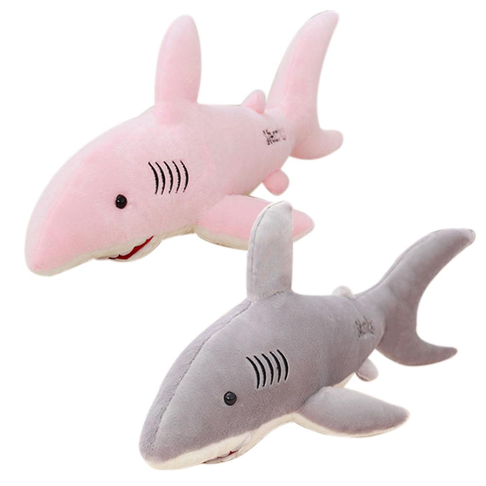 2019 Funny Plush Toy Big Great White Shark Jaws Stuffed Animal Toy