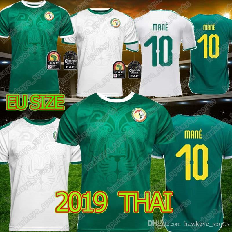 19 20 Africa Cup Senegal Soccer Thai Jersey world cup Senegal national football team men high quality Football shirt free shipping