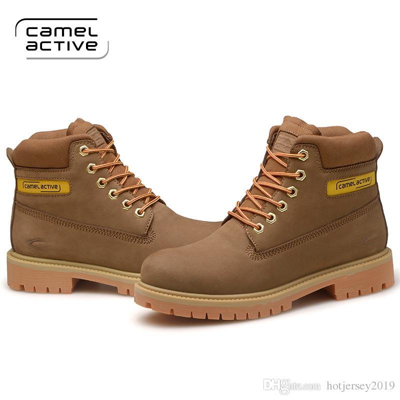 brand new cdc8f 9a3d3 Camel Active New Men Wanderschuhe Wasserdichte Leder rutschfeste  Outdoor-Schuhe Atmungsaktiv Fußschutz Trekkingschuhe # 325661