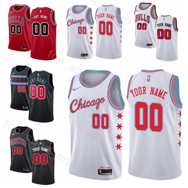 35d9a98bb 2019 Printed Man Kids Woman Chicago Basketball Bulls Jersey Zach LaVine 8  Lauri Markkanen 24 Otto Porter Jr. 22 Kris Dunn 32 Wendell Carter Jr. From  ...