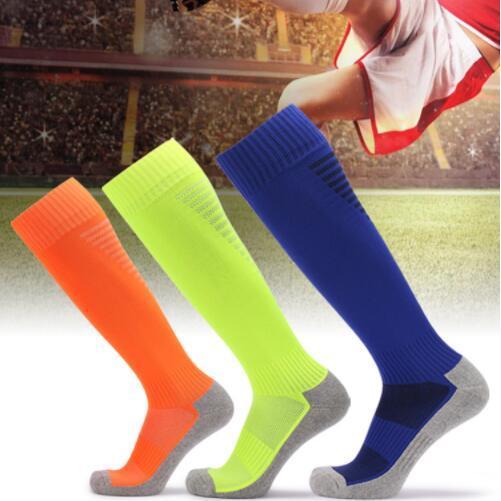 24839deed14 2019 Non Slip Sock Male Sock Adult Football Socks Towel Bottom Thickening Knee  Socks Long Tube Sport Sock Men Socks From Qiutian0001
