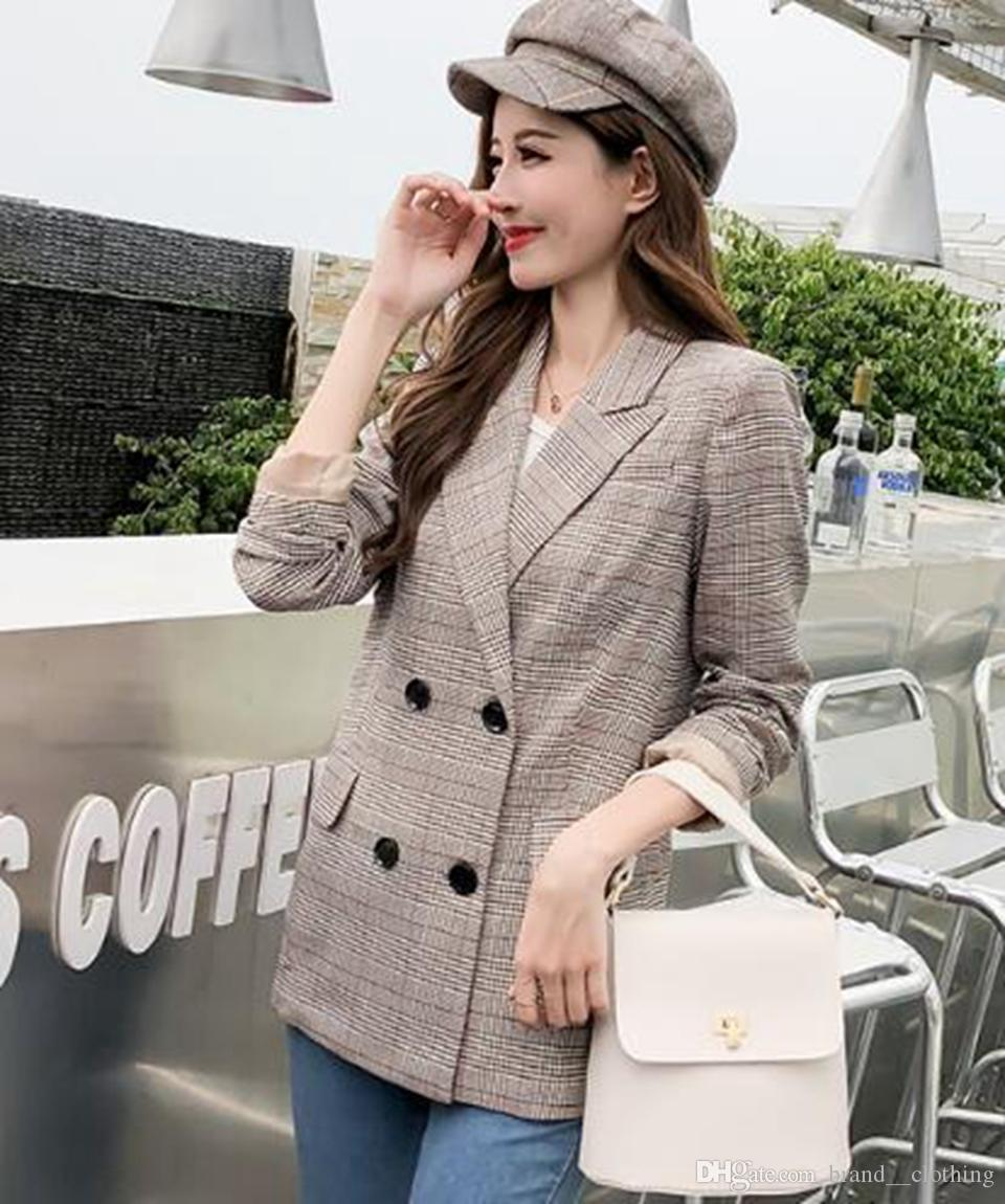 Woman chun qiu han edition new fund high-quality goods is special offer euramerican individual character tide shows thin suit coat / S-2XL