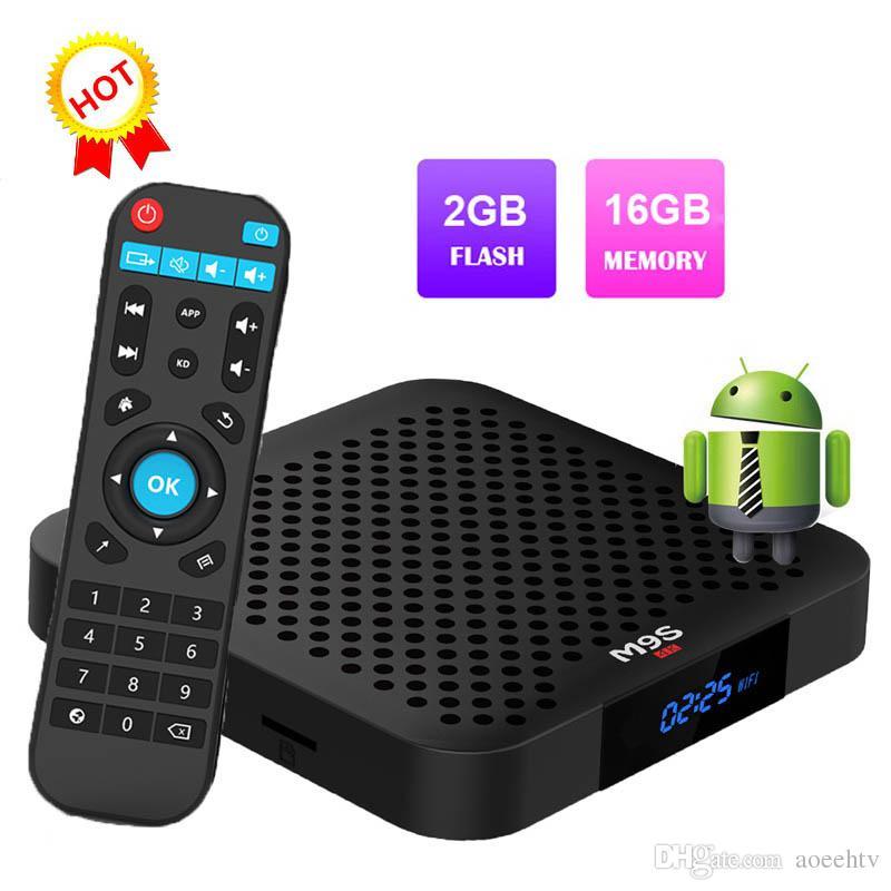 2019 M9S W2 Android 7 1 TV BOX Amlogic S905W Set-top box 2GB 16GB Media  Player Better MXQ PRO T95M X96 MINI TX3 H96 S905X2 S912 T95Z MAX