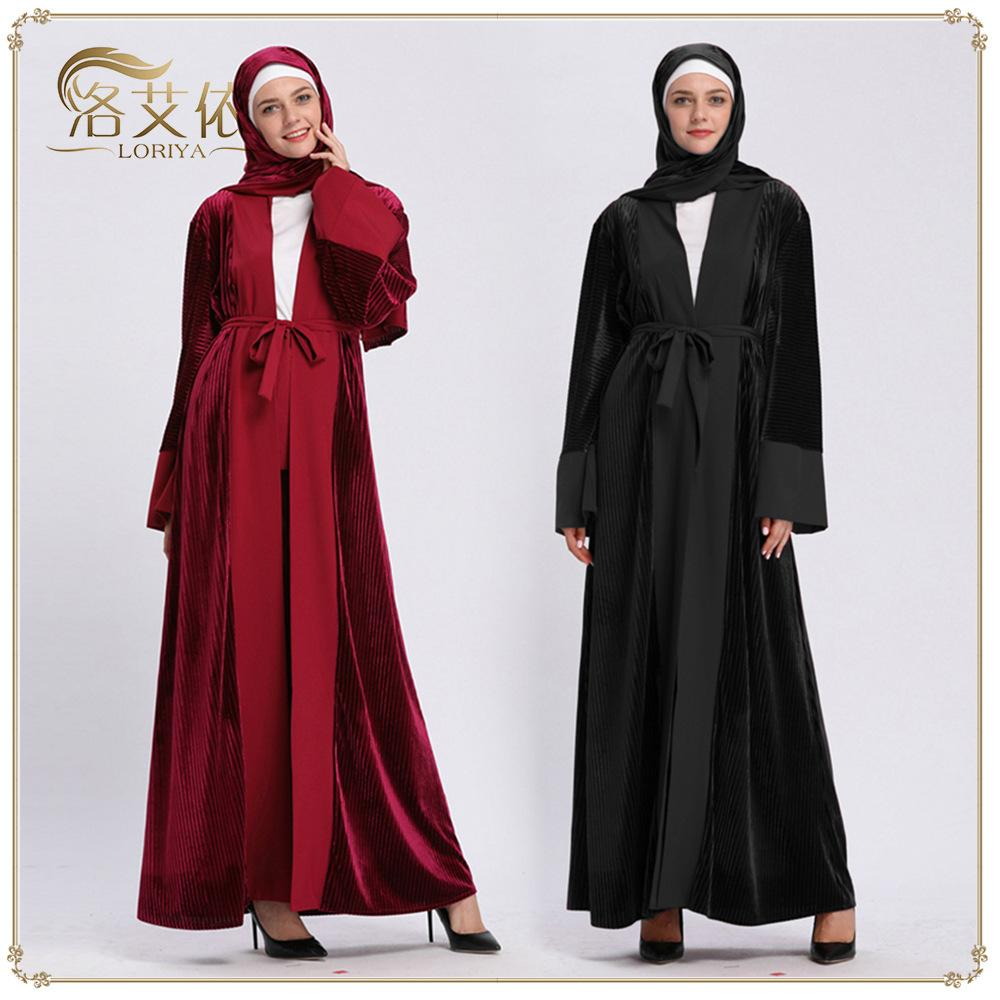 Acheter Robe Musulmane Femmes Dubaï Abaya Vêtements Islamiques Bangladesh Turque  Hijab Robe Islamique Ramadan Robe Islamique Robes Turques De $35.5 Du