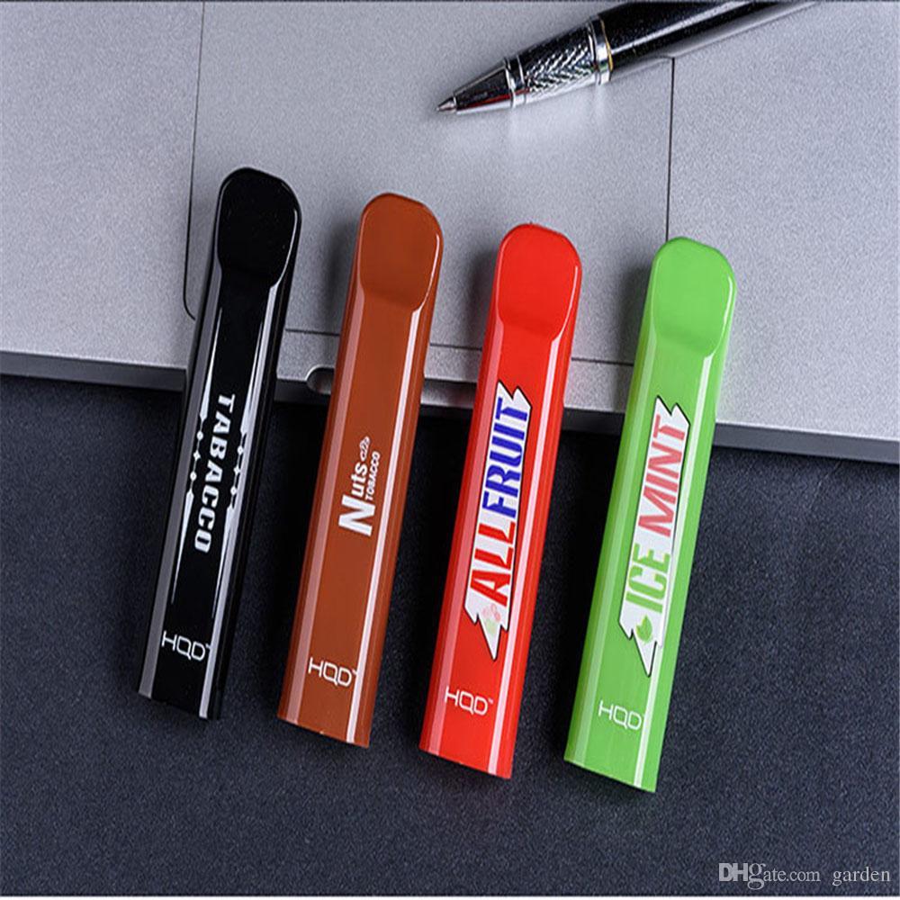 HQD CUVIE Disposable Pod Device Kit 5Pcs/Pack 280mAh Battery 1 5ml  Cartridge 300 Puffs Vape Pen Portable Starter Kit 6 flavors