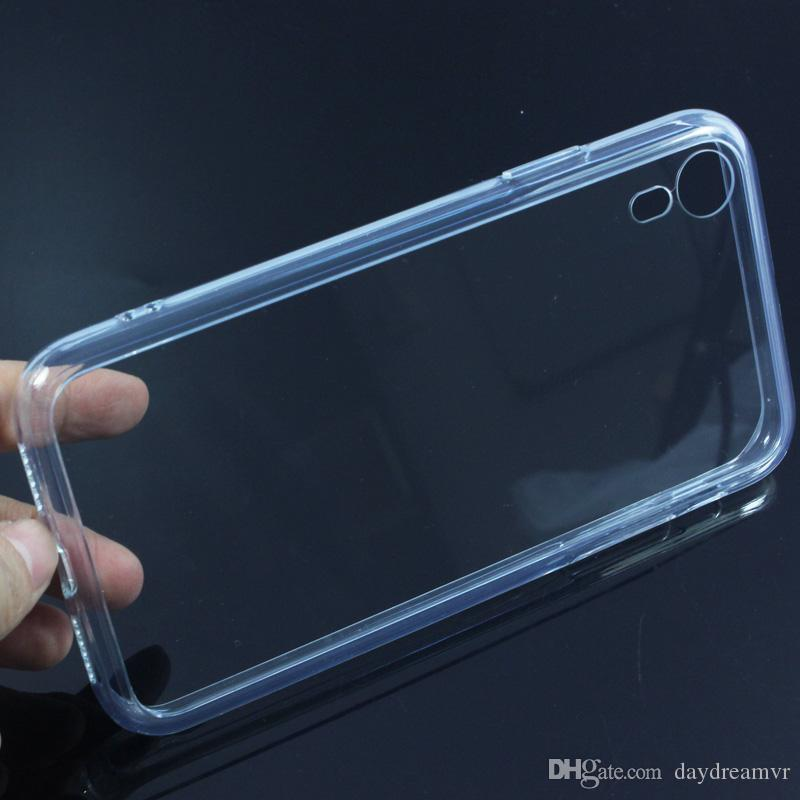 Free shipping mobile cellphone Coque Tempered Glass Back Clear Transparent Case For iPhone X XR XS XS Max i7 i8 plus tpu frame