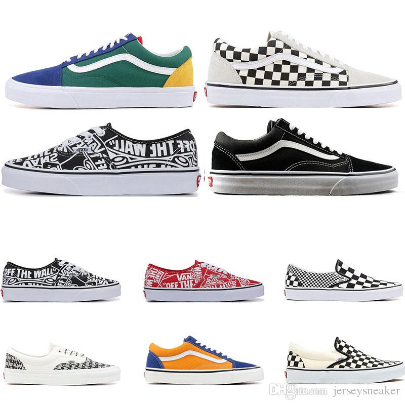 scarpe vans old skool checkerboard